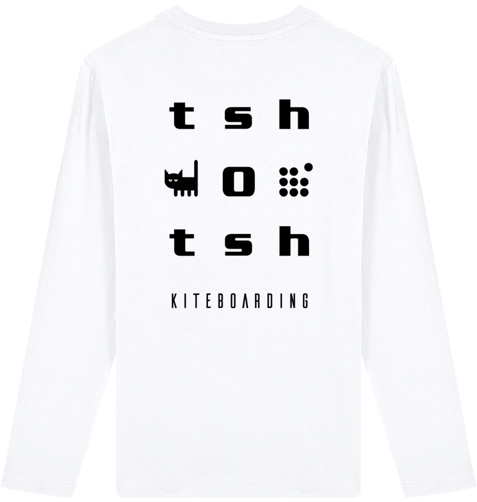 T-shirt Men Long Sleeves Tshotsh Organic Pyré