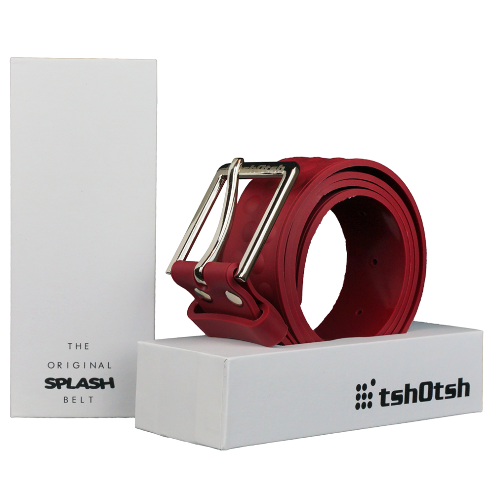 The Original Splash Belt Burgundy