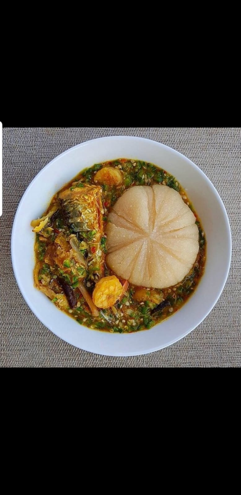 Okra and Banku