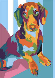 Pop Art Conversion - Pets By Numbers