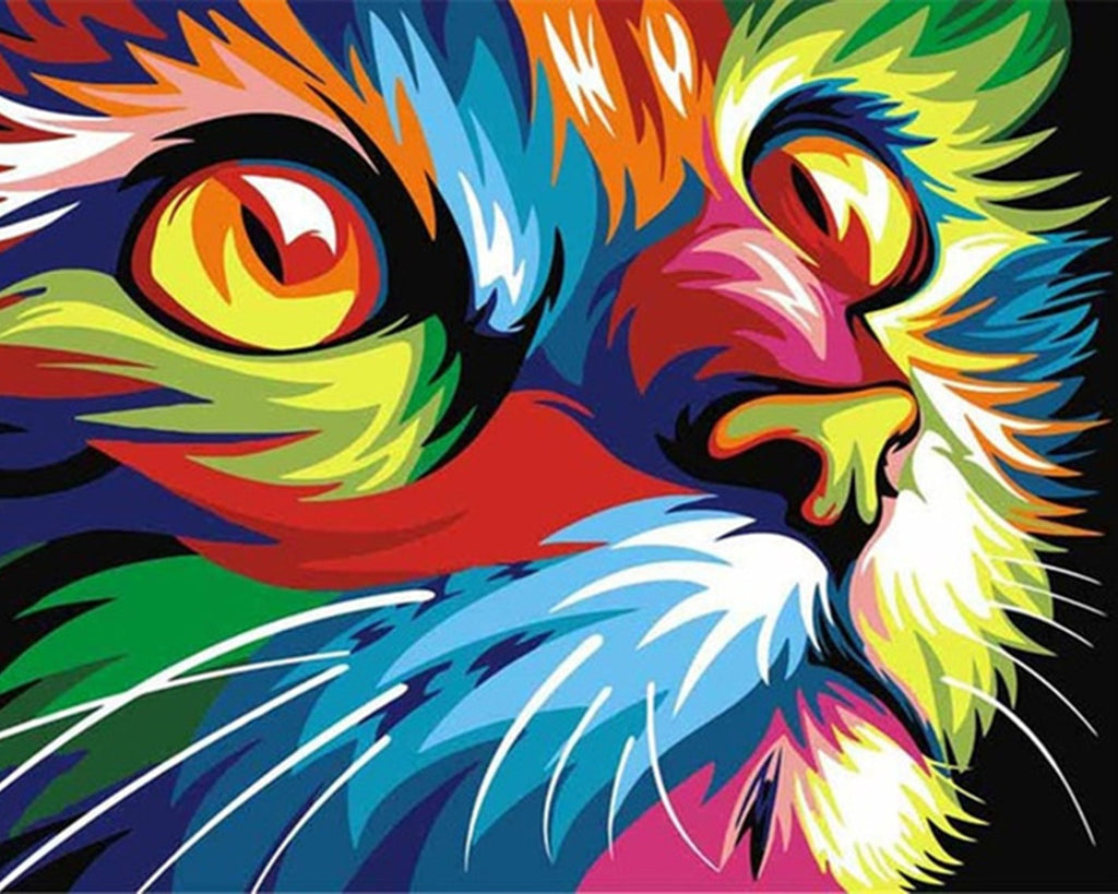 Pop Art Animals - Pets By Numbers
