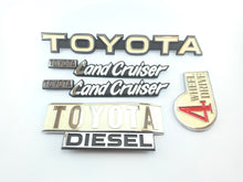 Load image into Gallery viewer, Complete TOYOTA LANDCRUISER (j40) Emblems set