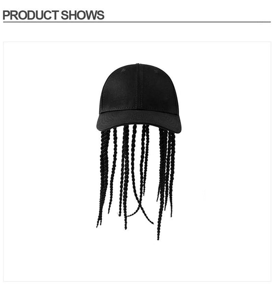 Cap Wig - Neutral Hair Extension Crochet Braids Hair Hat