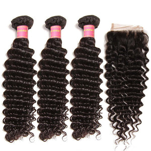 Chemical Fiber Brazil Virgin Virgin Deep Wave Hair 3