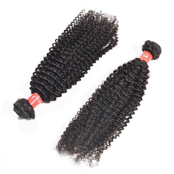 Human Hair - Copy Of Brazilian Human Hair Bundles 12 Inches Kinky Curly 3pcs/100g*3
