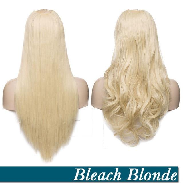 bleach-blonde