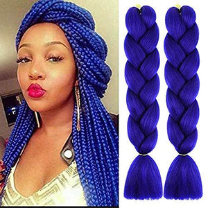Synthetic Hair Extension - Pure Color Twist Braiding Hair For Women