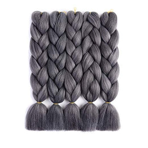 Synthetic Hair Extension - Synthetic Fiber Twist Braids