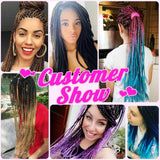 Synthetic Hair Extension - Three Tone Color Twist Braiding Hair
