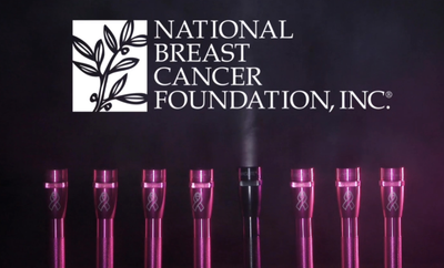 Sponsoring der National Breast Cancer Foundation