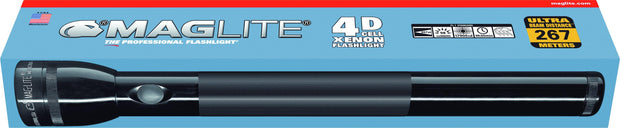 Maglite® 4-Cell D Xenon Flashlight - MAGLITE® Europe Flashlights & Lifestyle