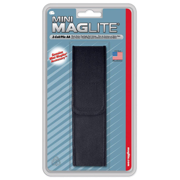 Maglite® Nylon Full Flap Belt Holster for Mini Maglite® AA Flashlights - MAGLITE® Europe Flashlights & Lifestyle