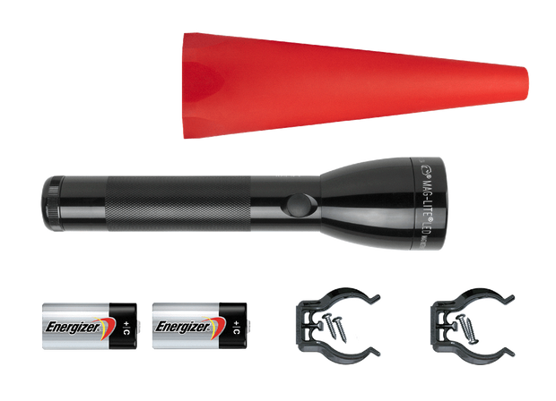 Maglite® ML50L™ LED Flashlight - Safety Pack (red wand) - MAGLITE® Europe Flashlights & Lifestyle