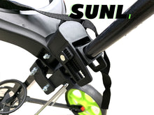 Load image into Gallery viewer, SUNL Light Weight Folding Golf Push Cart w/Wild Front Wheel | Cup Holder