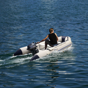 400cm Inflatable Heavy Duty Dinghy Tender Boat
