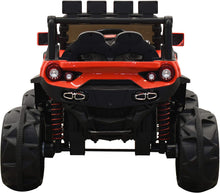 Load image into Gallery viewer, SunL 12V 4x4 4-Wheel Drive Kids Ride On Mini UTV | Truck | Car w/Remote | Manual | MP3 Player - Red