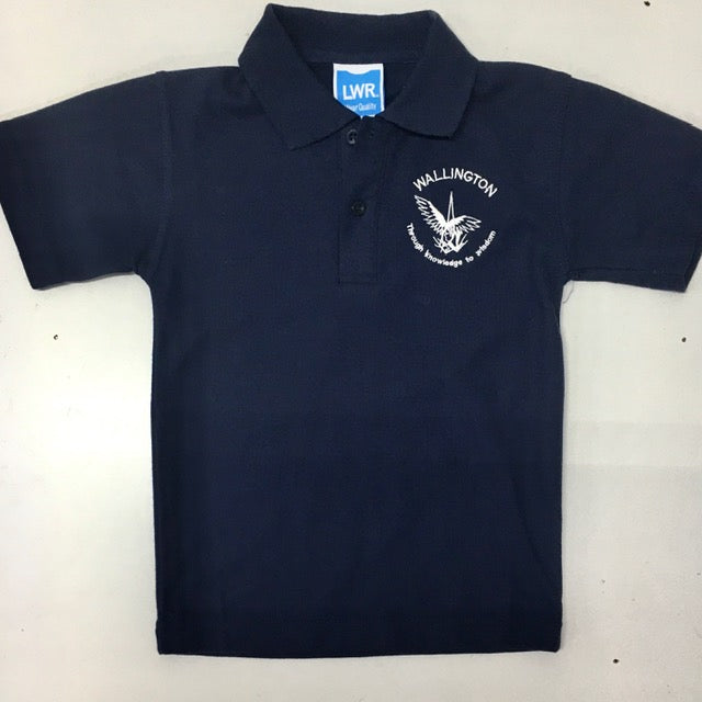 Short Sleeve Polo Shirt - WALLINGTON PRIMARY SCHOOL