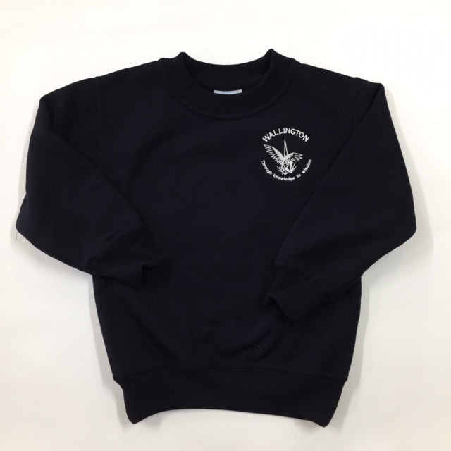Fleece Crew Neck Jumper - WALLINGTON PRIMARY SCHOOL