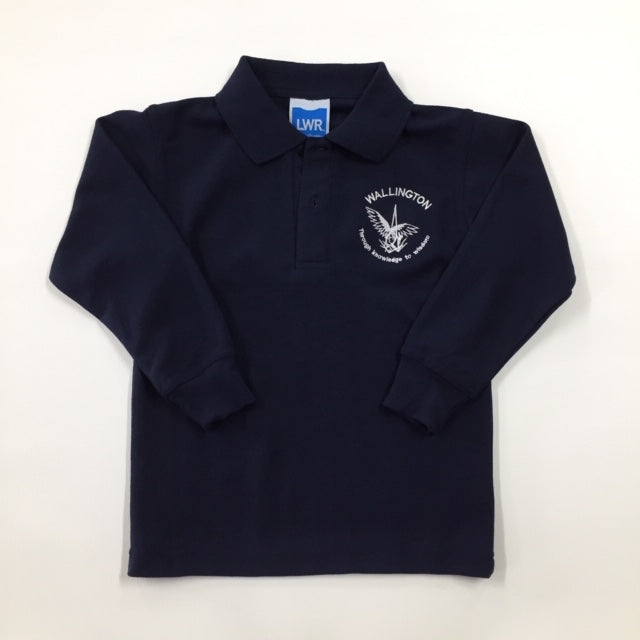 Long Sleeve Polo Shirt - WALLINGTON PRIMARY SCHOOL
