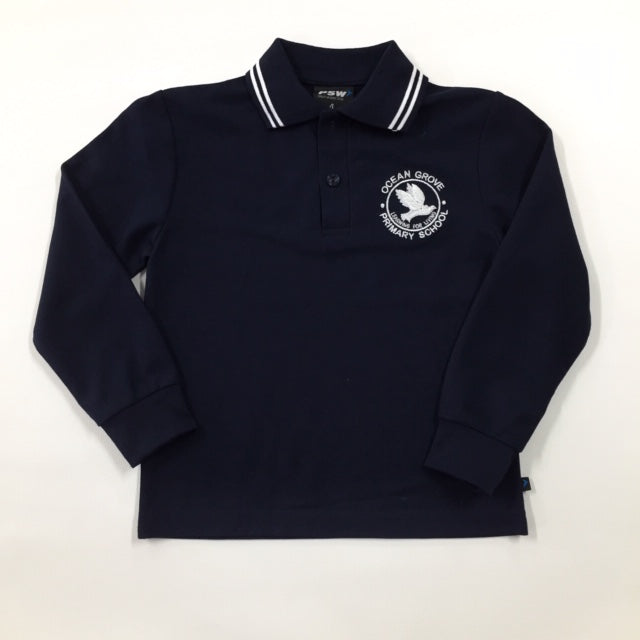 Long Sleeve Polo Shirt - OCEAN GROVE PRIMARY SCHOOL