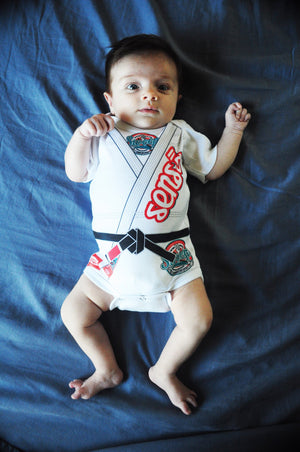 Sensō Jiu Jitsu:Baby Bodysuit - Sweep Model