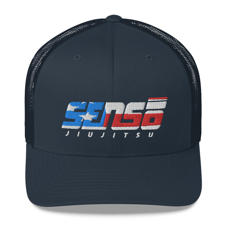 Sensō Jiu Jitsu:Home Of The Brave Trucker Cap