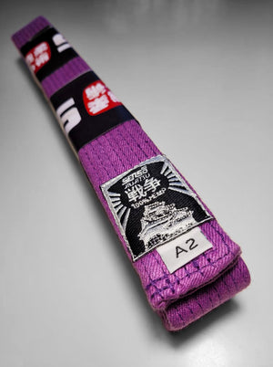 Purple Belt 100% Hemp