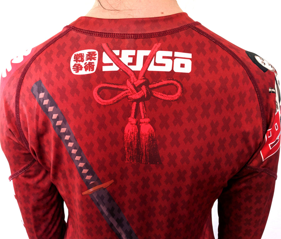 Sensō Jiu Jitsu:Tomoe Women's Rash Guard