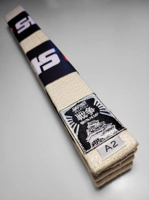 White Belt 100% Hemp