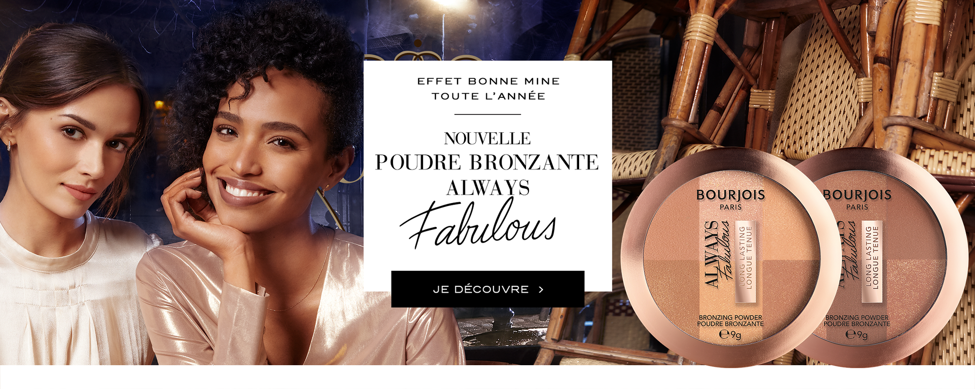 Maquillage bourjois poudre Always fabulous