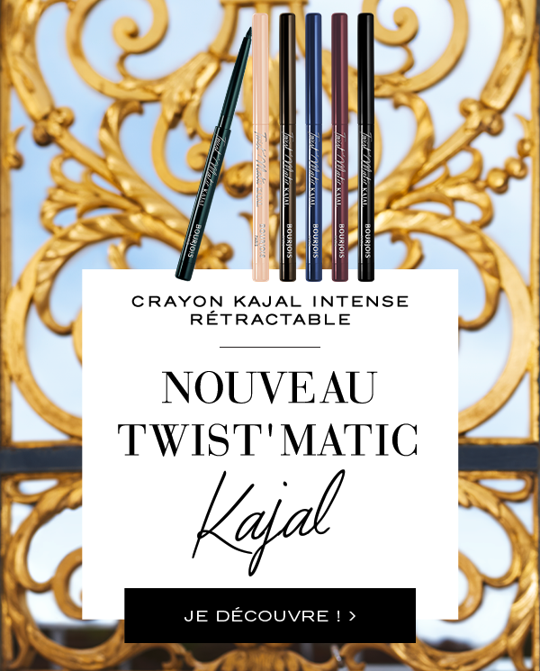 Maquillage avec crayon yeux waterproof twist'matic kajal