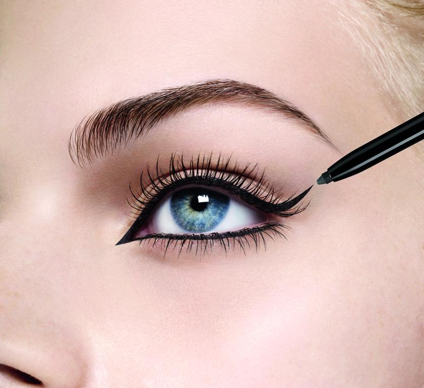 Application eye liner feutre bourjois