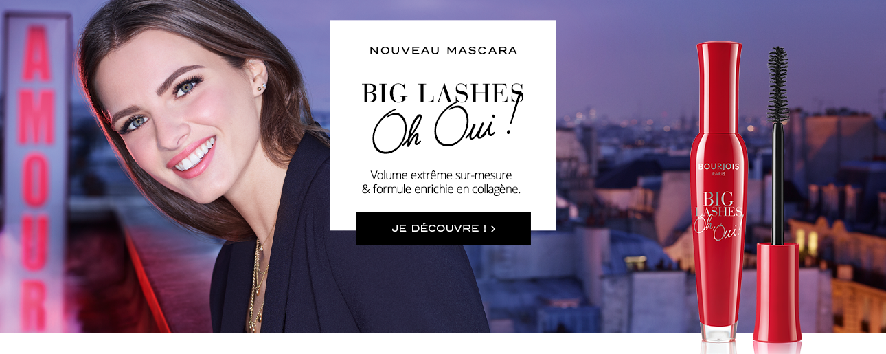 Mascara volume noir Bourjois Big Lashes