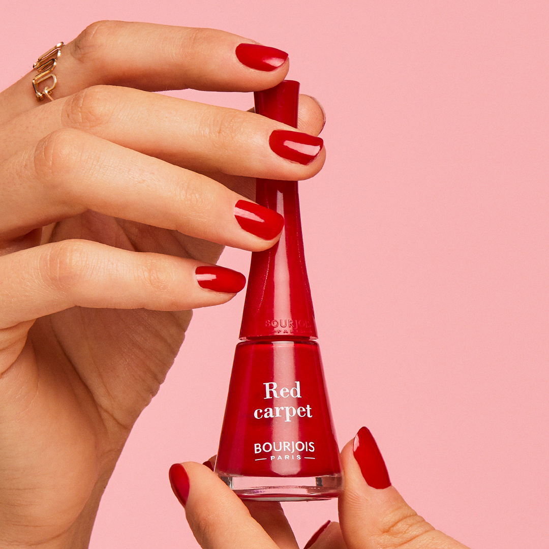 vernis à ongles rouge 1 seconde bourjois