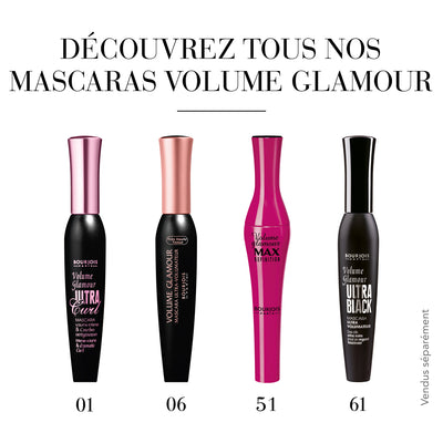 mascara volume glamour ultra curl 01 Black curl