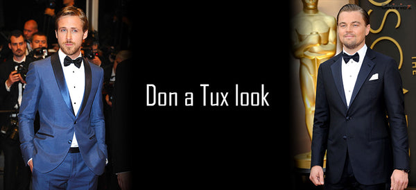 Don a tux look