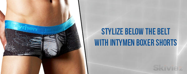 Stylize Below The Belt With Intymen Boxer Shorts