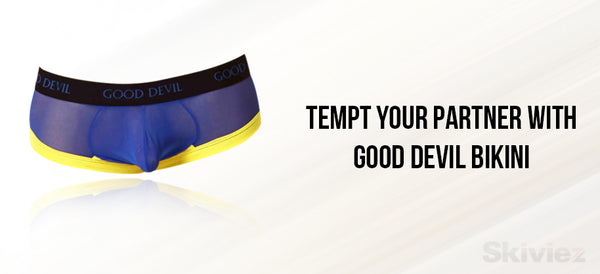 temp your partner with gooddevil bikini