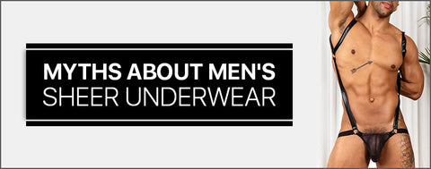 Mens Sheer Underwear