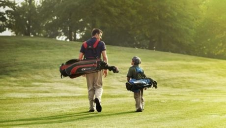 The golfer father