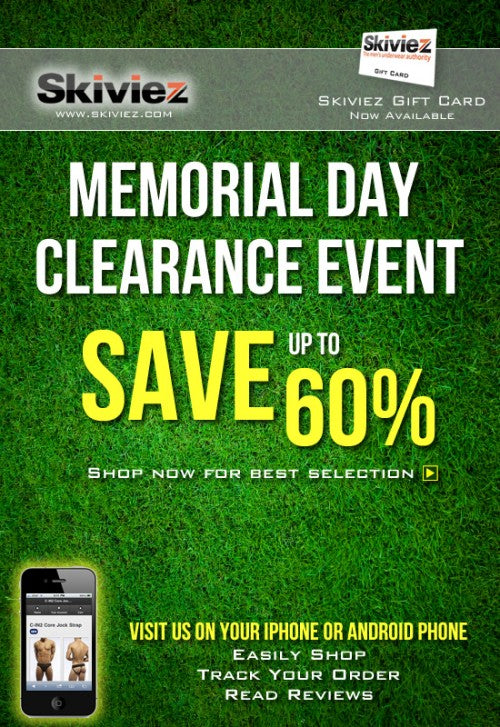 Memorial Day Clearance Event
