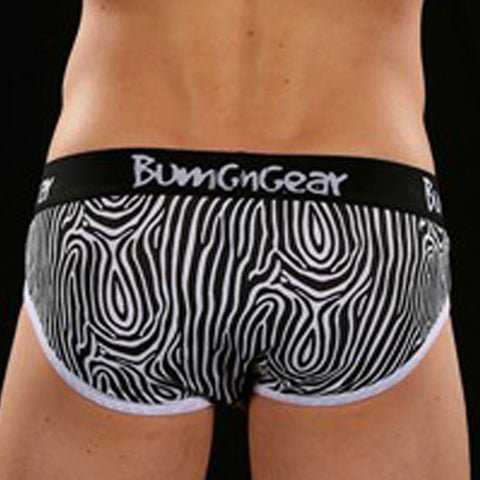 Bumgear BG111  Zebra Brief Black