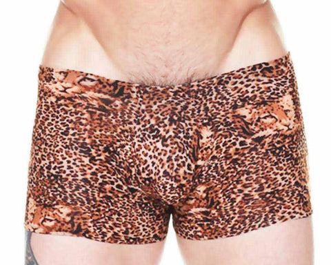 Male Power 153-030  Pouch Short  Leopard
