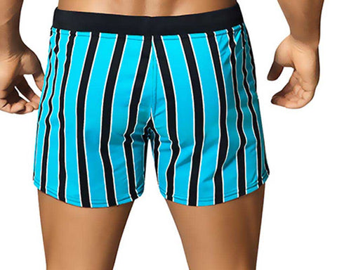 Vuthy 321 Stripe Swimsuit Board Short