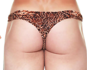 Male Power 444-030  Wonder Thong  Leopard