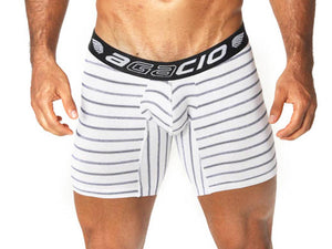 Agacio AG5939  Long Boxer Stripes