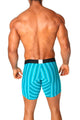Agacio AG5947  Long Boxer Horizontal Stripes
