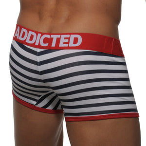 Addicted AD142 Sailor Boxer White Blue