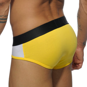 Addicted AD447 Contrast Mesh Brief