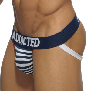 Addicted AD512 Sailor Stripes Jock